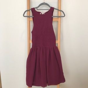 URBAN OUTFITTERS Tie-Back Smock Dress